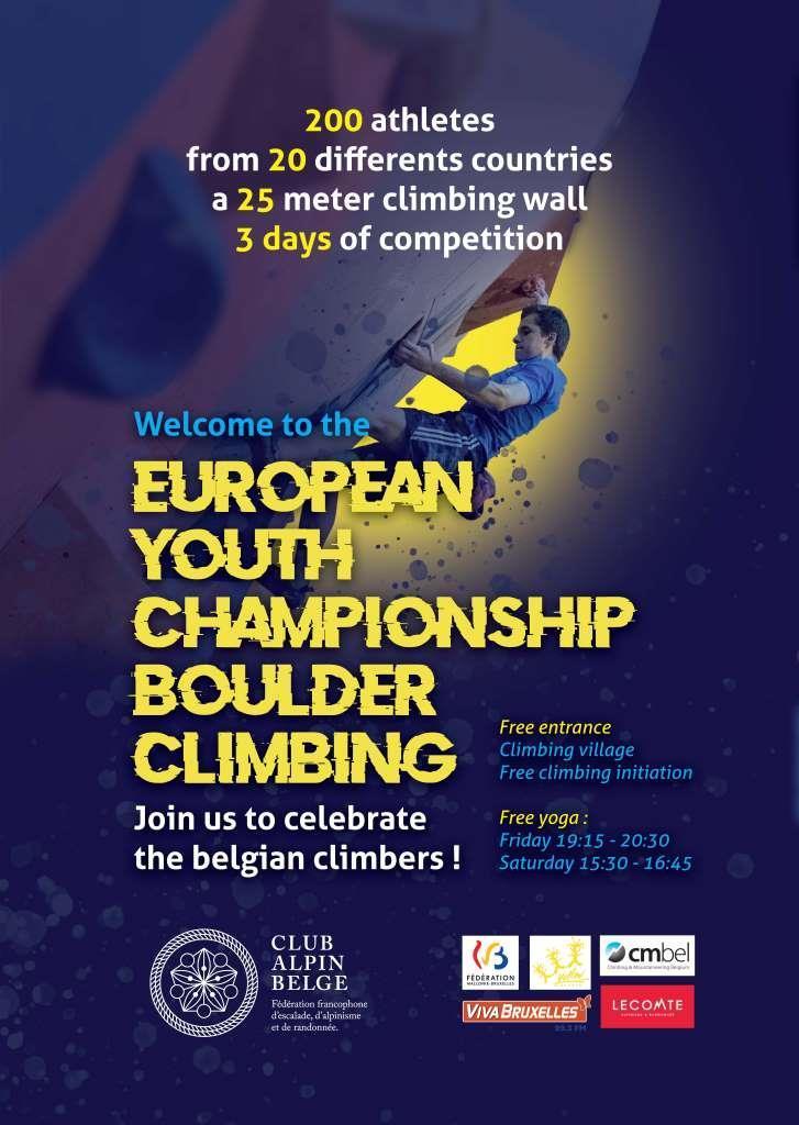 Championnat européen d'escalade au ♥ de BLX  // 31.08, 1 & 2.09